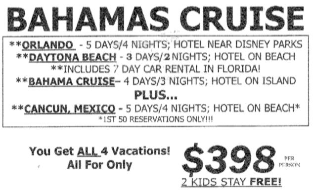 Fl Cruise Fax