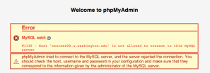 phpMyAdminAccess denied