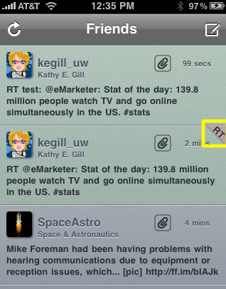 Tweetelator Shows New Retweets