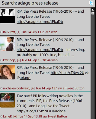 adage TweetDeck