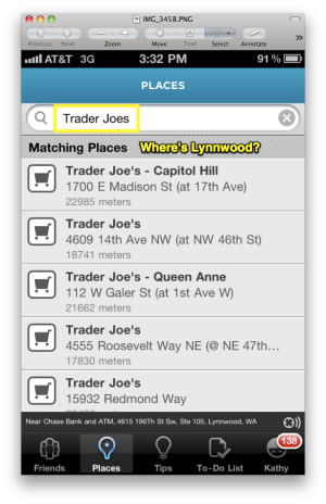 Foursquare Trader Joes