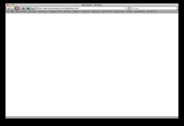 Blank Verizon Page