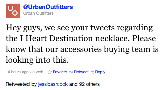 twitter urban outfitters