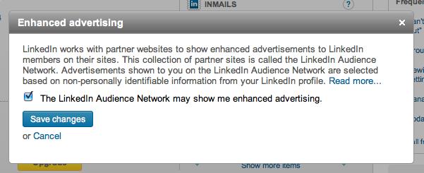 LinkedIn Enhanced Ads