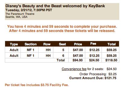 tickets.com - paramount