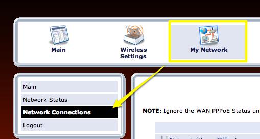 Frontier-Verizon FIOS router setup