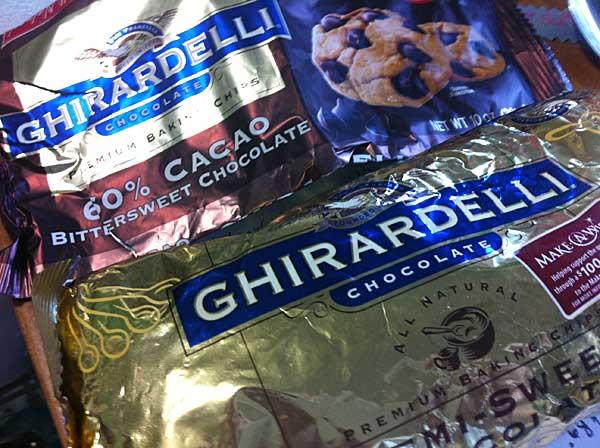 Ghirardelli chips